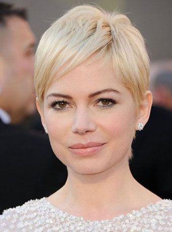 Michelle Williams Short Blonde Hair Oscar Hairstyles Short