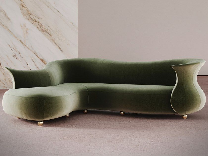 Download The Catalogue And Request Prices Of Amphora Corner By Desforma Curved Sofa Amphora Collection Curved Sofa Living Room Sofa Design Sofa