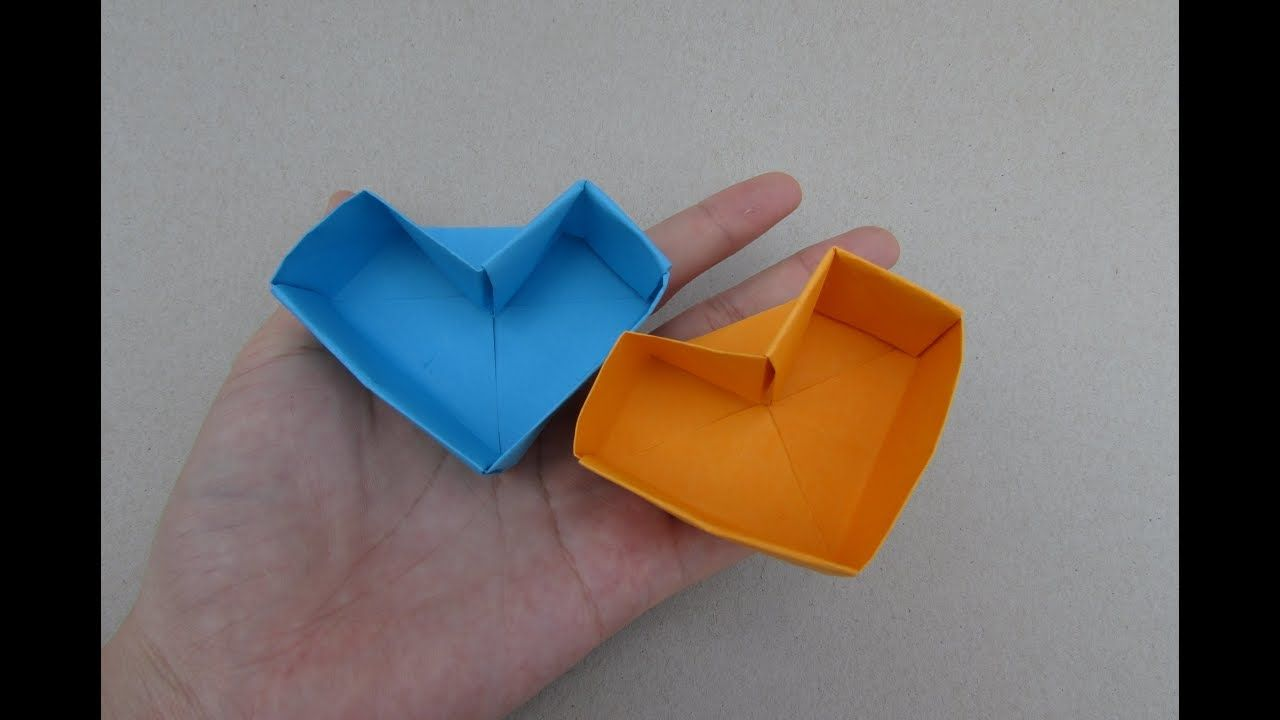 Step By Step Diy Origami Heart Box - All About Craft | 720x1280