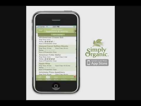 The Simply Organic iPhone app is a key to a simply healthy way of life! Browse our collection of hundreds of recipes to find an irresistible new dish, or a simple recipe for an old favorite. Use the full-flavored, wholesome ingredients we've highlighted to make each recipe a resounding...