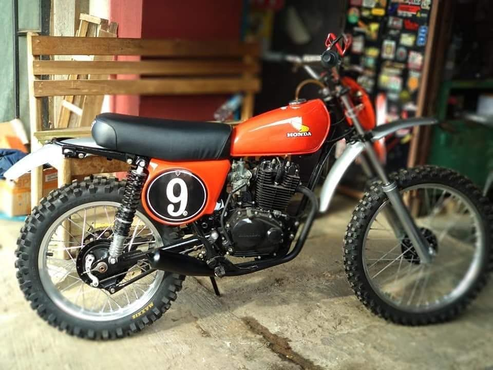 261 Likes 1 Comments Vintage Mx Indonesia Vintage Mx Indonesia On Instagram Honda Xl 125 Engine Swap Crf150f Buitenzorg001