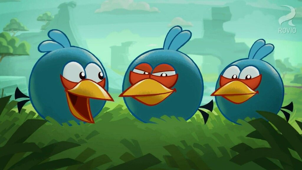 Pin by Chloee on Angry Birds Toons The Blues Jay Jake and
