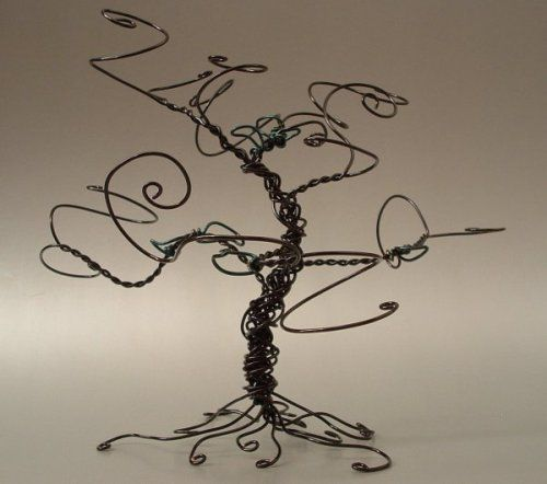 "Custom Figurines -- Handmade Wire Sculptures-Use Your Old ""hangers""!  What a Cool Idea"