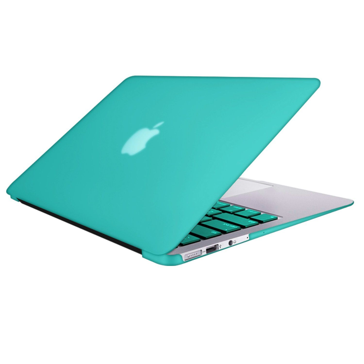 Rubberized Hard Case Cover Shell Keyboard Skin for Macbook Air 13 inch Laptop