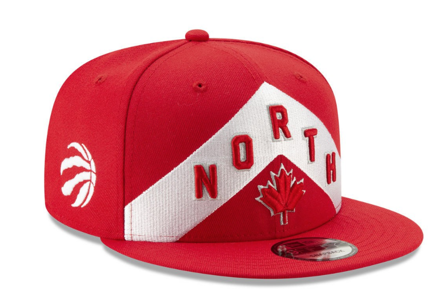 Men/'s Toronto Raptors We The North City Series Black New Era 9FIFTY Snapback