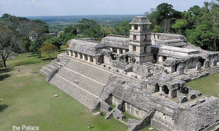 Palenque, Mexico.  http://www.worldheritagesite.org/sites/palenque.html