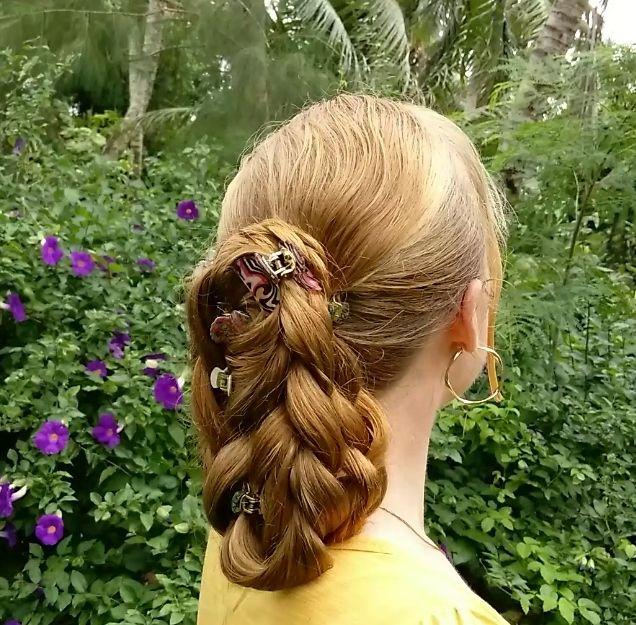 Braids & Hairstyles for Super Long Hair: Audrey Hepburn Short Ponytail