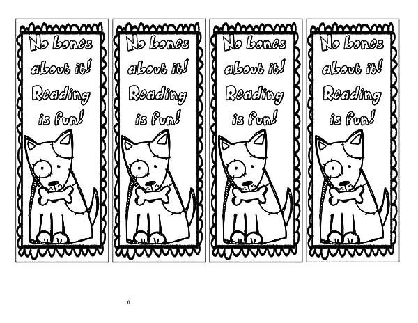 free bookmark coloring pages Google Search Coloring Bookmarks