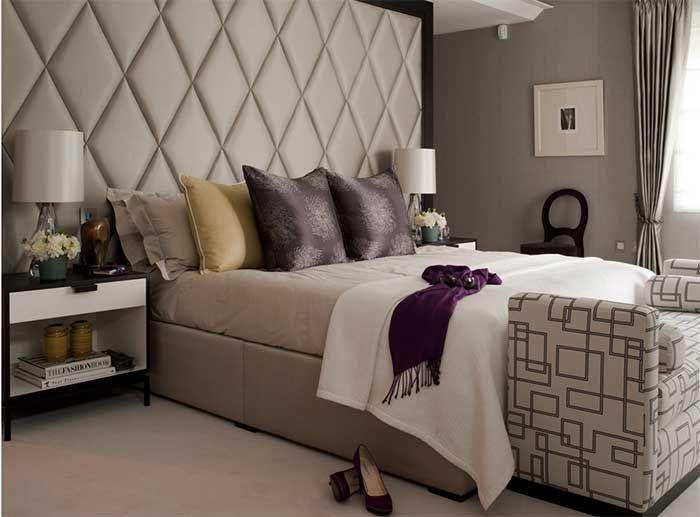 Cabeceros acolchados cama grandes buscar con google - Cabeceros acolchados cama ...