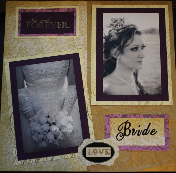 8.5x11 10 page single sided Album by AvantGardeScrapbook on Etsy, $190.00