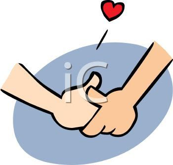 holding hands clip art rh pinterest com cartoon holding hands drawing cartoon hands holding something