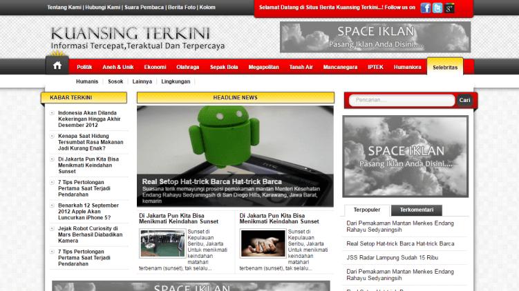 Download Website Portal Berita Menggunakan Php Website Portal Berita