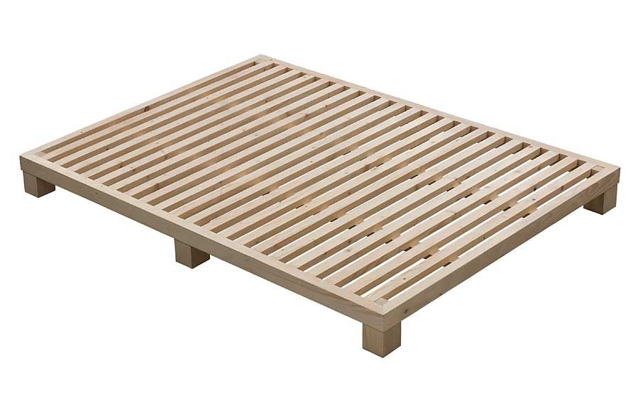 Somier Rigido Nordik Material: Madera de Pino Bastidore de madera ...
