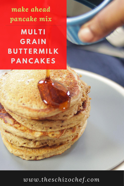Multi Grain Buttermilk Pancakes Recipe In 2020 Breakfast Recipes Easy Buttermilk Pancakes Best Breakfast Recipes