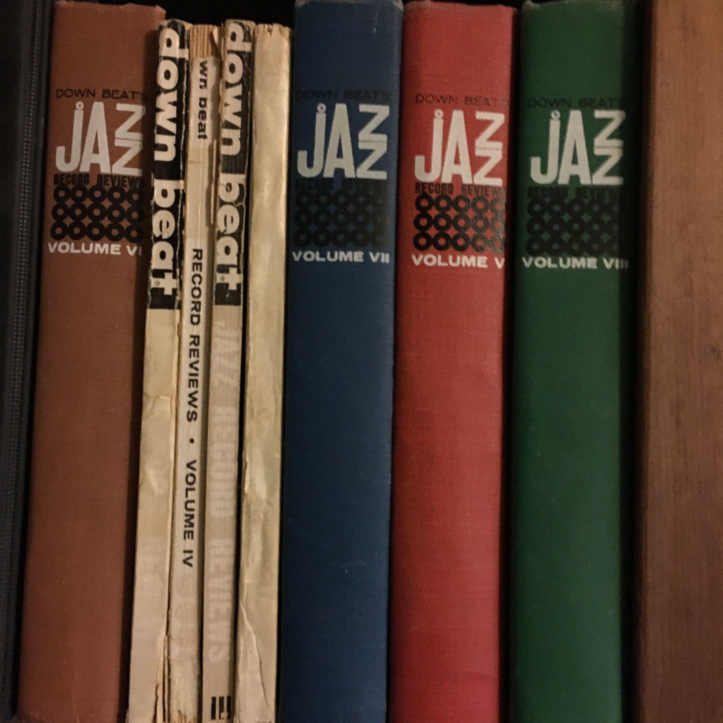 Downbeat Jazz Reviews volumes | Jazz: books, magazines & ephemeral