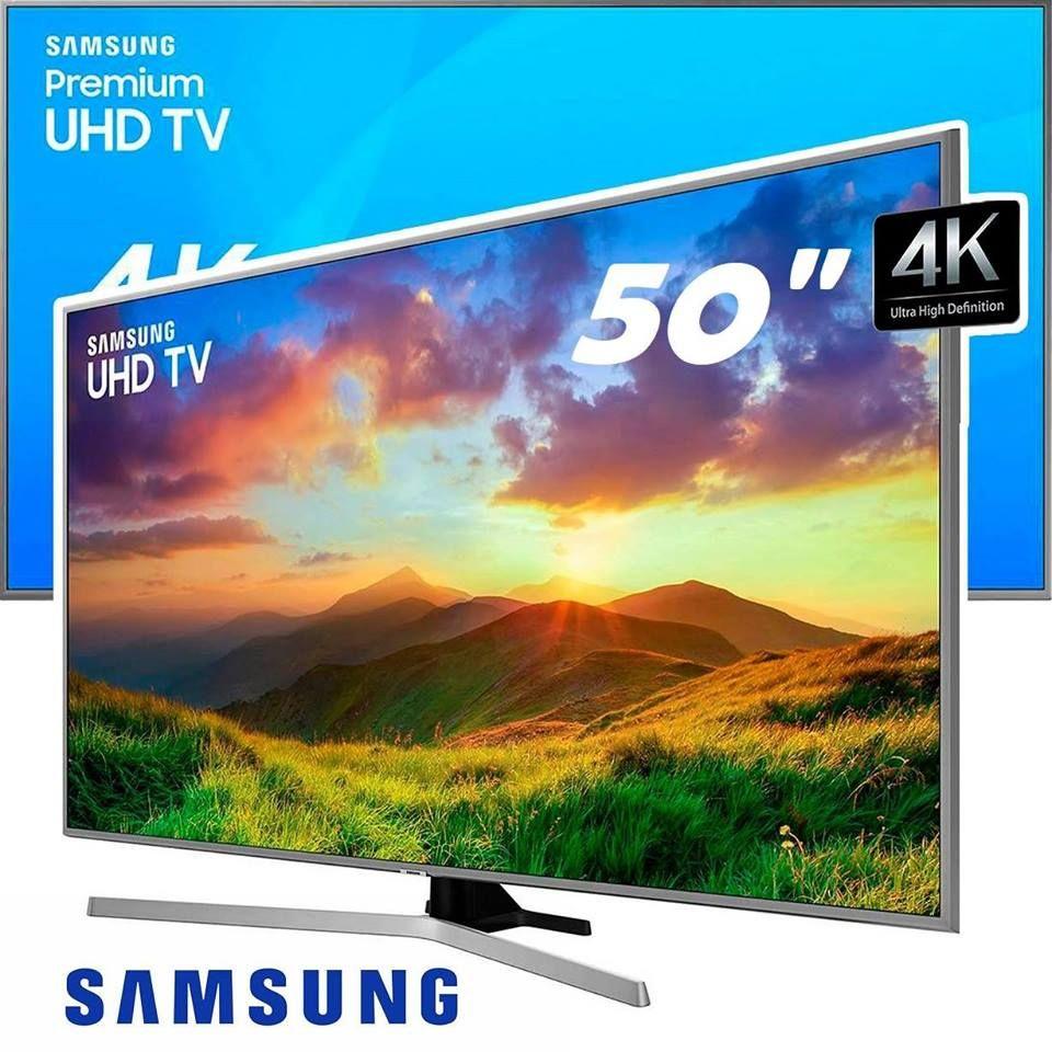 f05689559e78a Smart TV LED 50″ UHD Samsung 50NU7400 Ultra HD 4k com Conversor Digital 3  HDMI