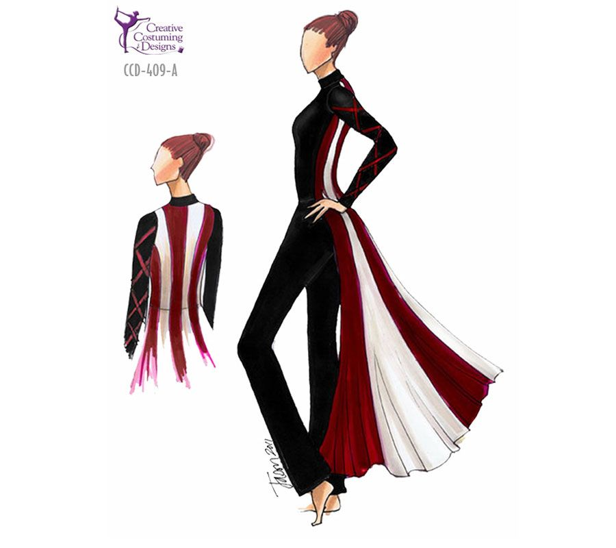 Aggressive Creative Costuming Designs Color Guard Costumes Colorguard Outfits Creative Costuming Designs