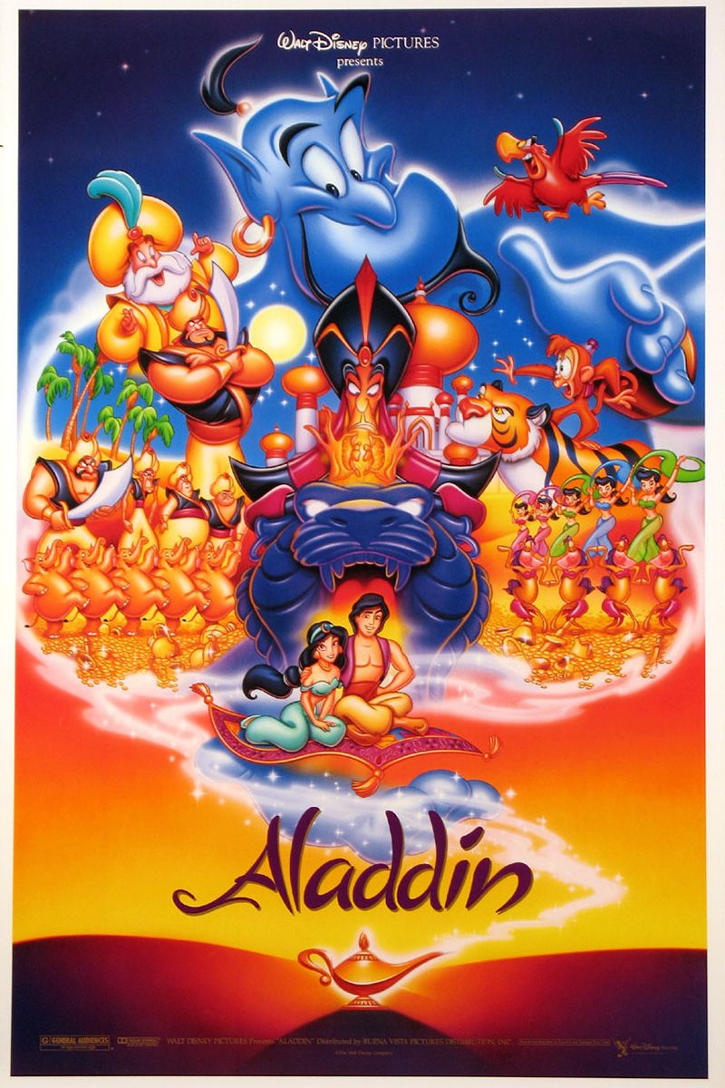 How long is aladdin movie 2020