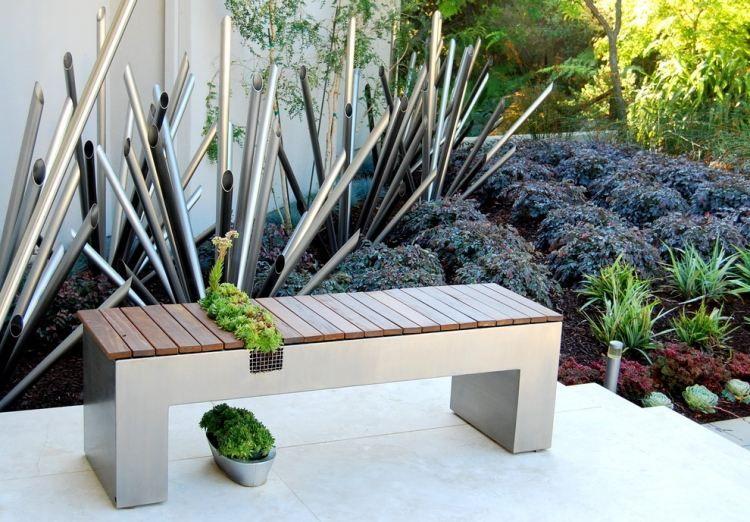 Sculpture contemporaine et autres idées de déco du jardin ...