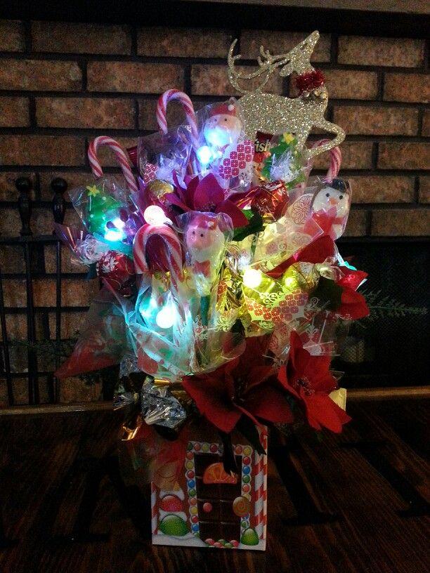 christmas candy bouquet - Christmas Candy Bouquet