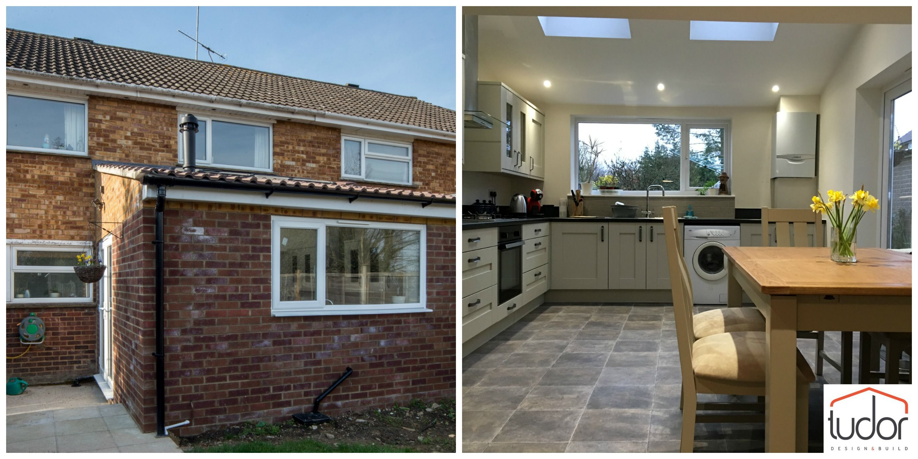 Small kitchen extension design, Terraced house kitchen extension ...