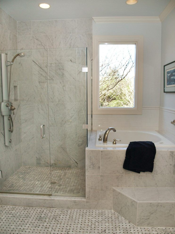 Small Soaker Tub Bathroom Traditional With Anese Soaking