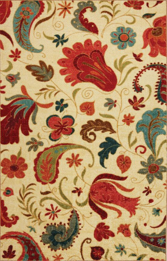 Mohawk Select Strata Tropical Acres Ivory Rug At Rugs Usa Home Decor For The Kitchen