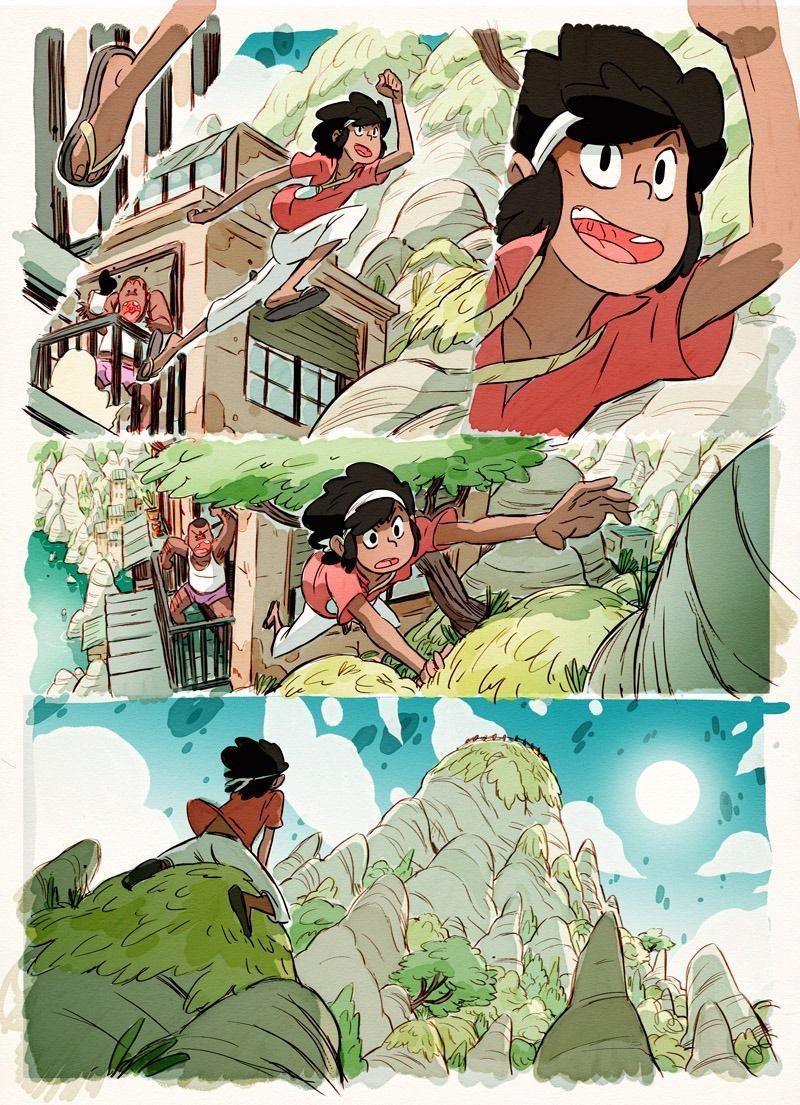 Everything Is Comics Comic Layout Character Design Cartoon Art