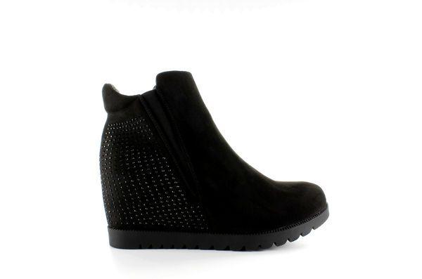 Botki Damskie Obuwiedamskie Czarne Botki Ukryty Koturn 168 105 Black Obuwie Damskie Chelsea Boots Boots Ankle Boot