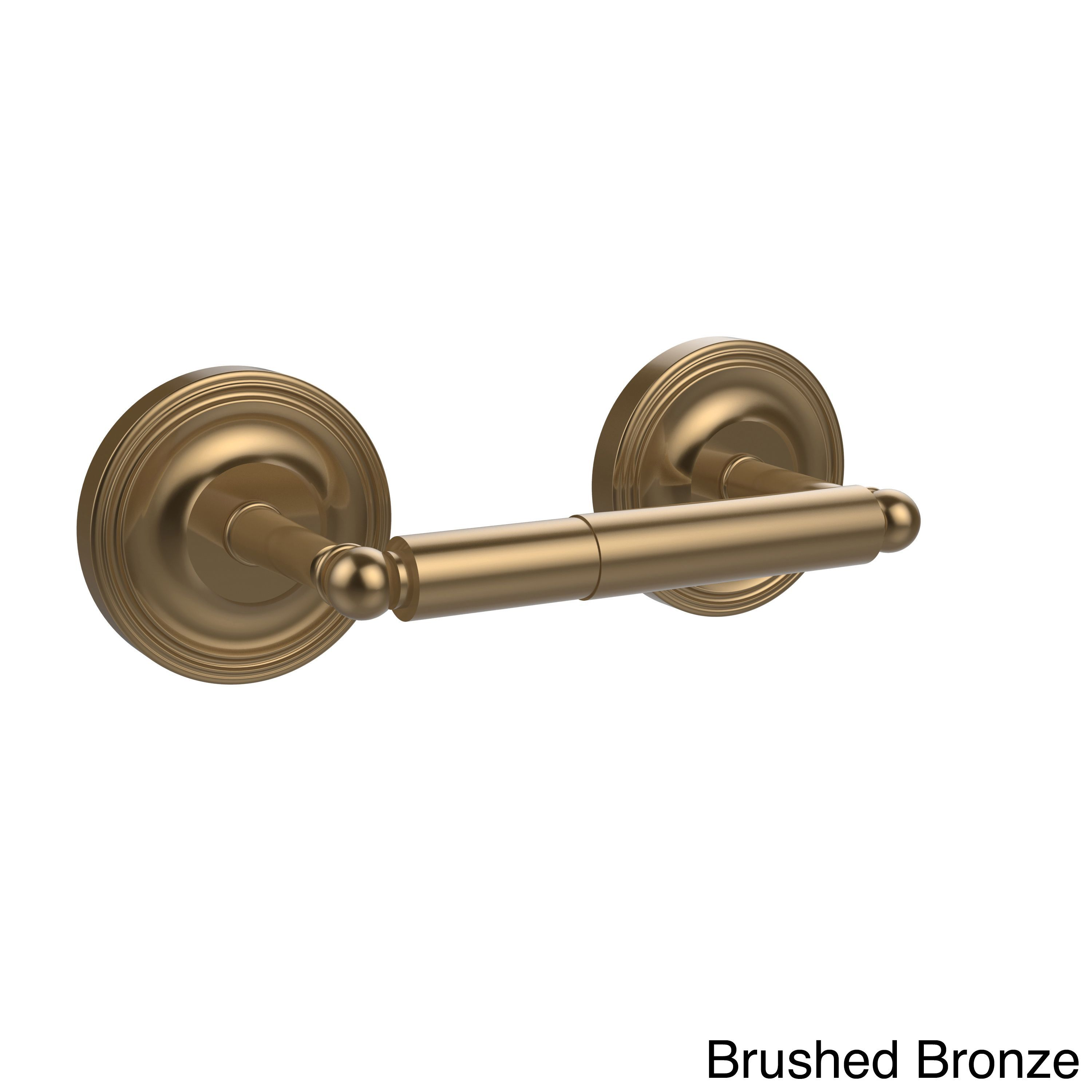 Allied Brass Regal Collection Polished Brass 2-post Toilet Tissue ...