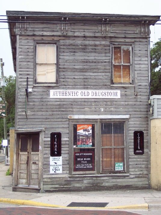 St. Augustine, Fl. 2011 old pharmacy