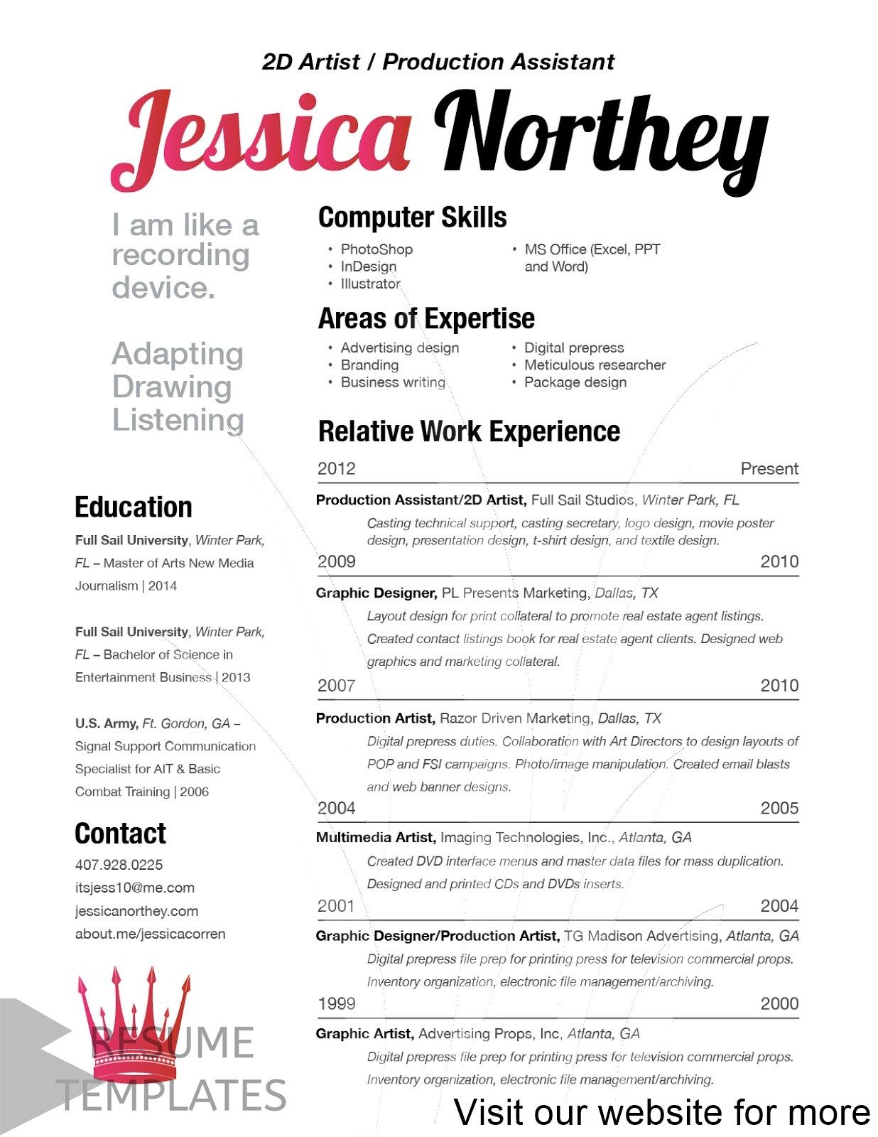 28+ free downloadable resume template microsoft word cover ...