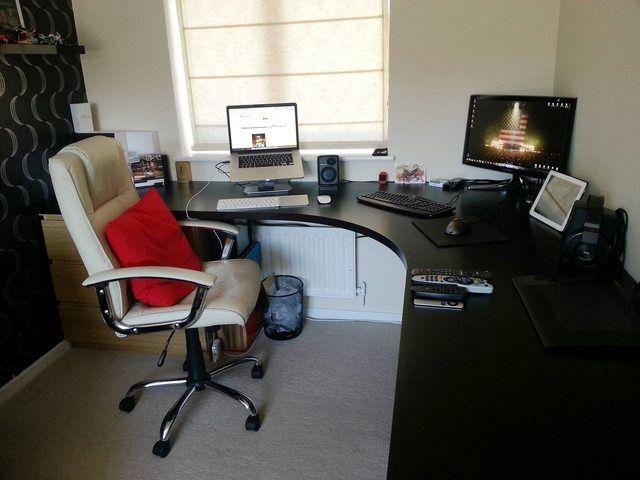 Best 25 ikea corner desk ideas on pinterest corner desk ikea office hack and ikea office - Ikea corner office desk ...