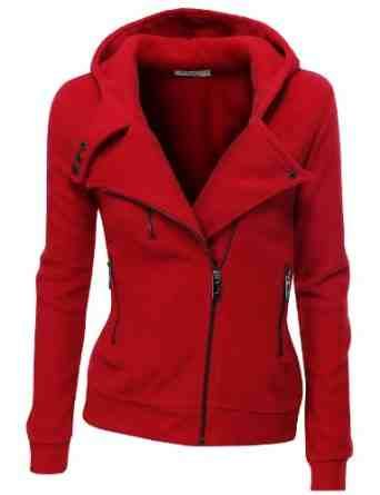 2f7e741a in Jackets and Coats: Women's Fleece Zip-Up High Neck Jacket. Features high