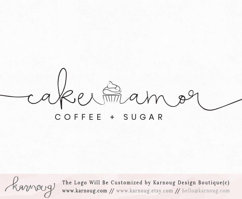 Cupcake Logo Cake logo Bakery Logo Baking Logo Logos Boutique Logo ...