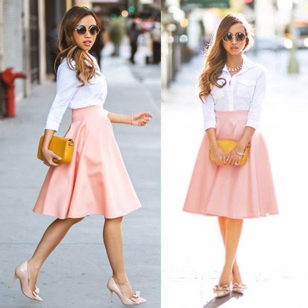 skirts knee length - Pesquisa Google   outfits   Pinterest   Maxis ...