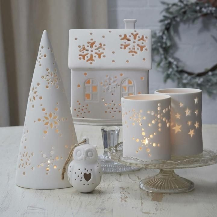 White Christmas Vintage Style – Ideas for Decorating Your Home - Decorationidea.Net