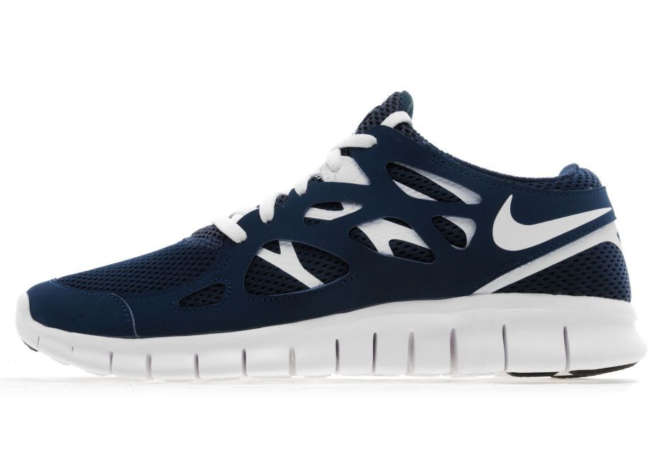 Nike Free Run 2 In Armory NavyWhite, From JD Sports