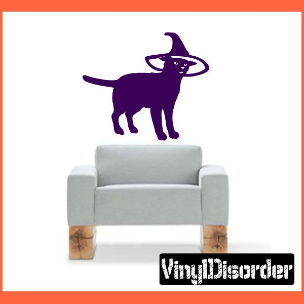 Cat Wall Decal - Vinyl Decal - Car Decal - NS006