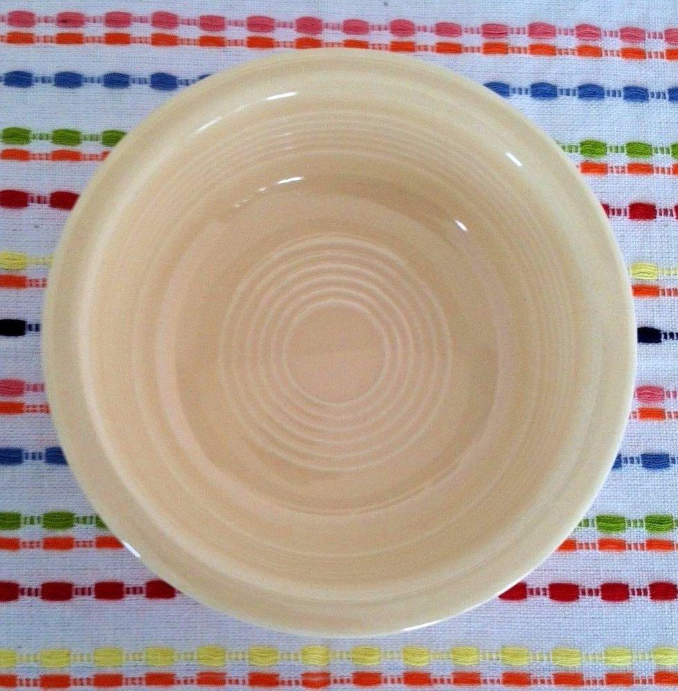 Vintage Fiestaware Ivory 4 3/4 inch Fruit Bowl Fiesta Small Bowl & Vintage Fiestaware Ivory 4 3/4 inch Fruit Bowl Fiesta Small Bowl ...