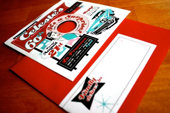 Vinyl Record Invitations Found On Etsy Perfect For 5039s