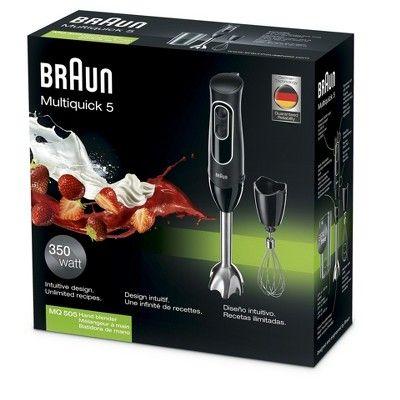 Braun Multiquick 5 Handblender Black Braun Multiquick 5 Braun Consumer Packaging