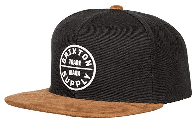 8e35f63335a6f Brixton Men s Oath Iii Medium Profile Adjustable Snapback Hat Review ...
