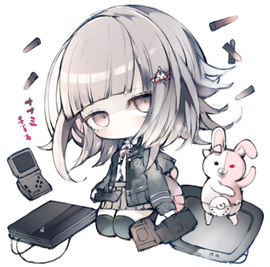 Chiaki monomi danganronpa 2 g pinterest - Anime gamer boy ...