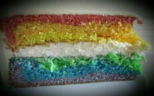 #Regenbogen #Kuchen #DasTortenfräulein