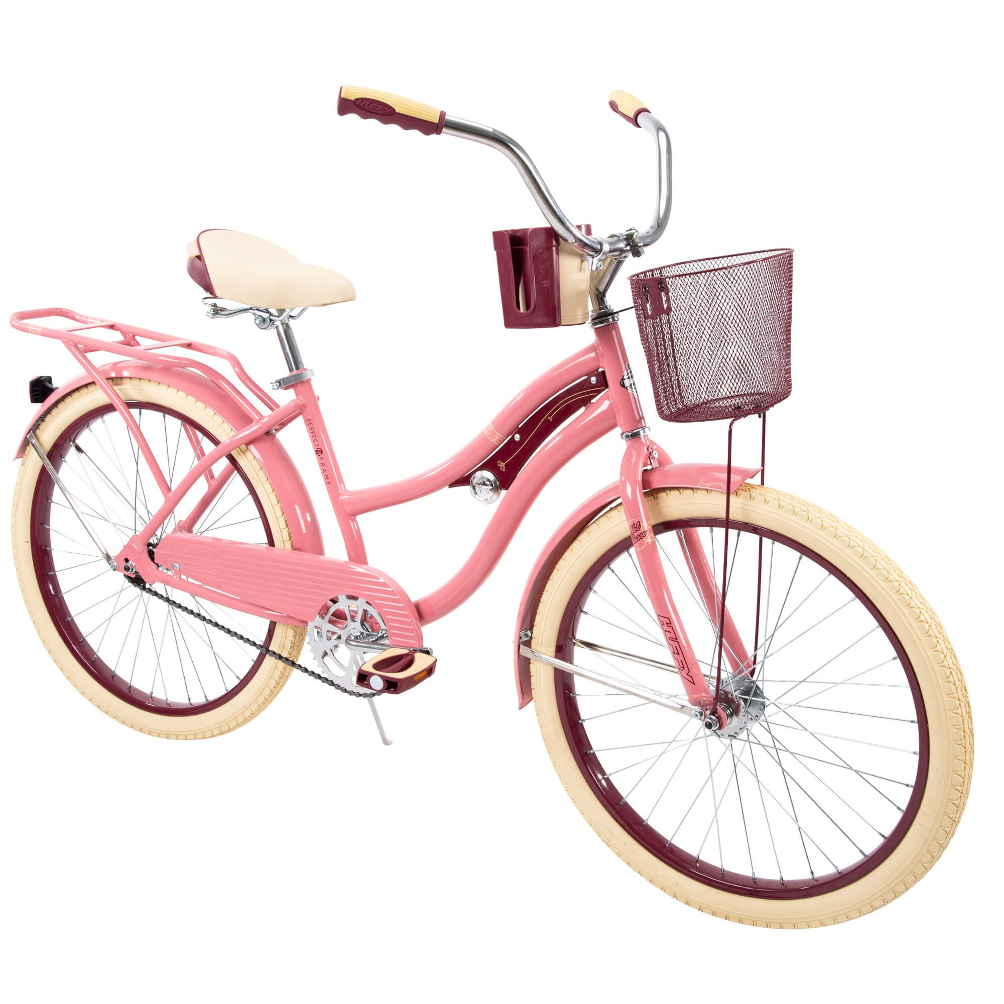 Huffy 24 Nel Lusso Girls Cruiser Bike Mint Green Walmart Com In 2020 Cruiser Bike Pink Bike Womens Bike