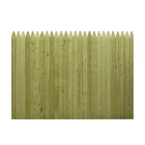Best 6 Ft H X 8 Ft W Pressure Treated 4 In Moulded Stockade 400 x 300