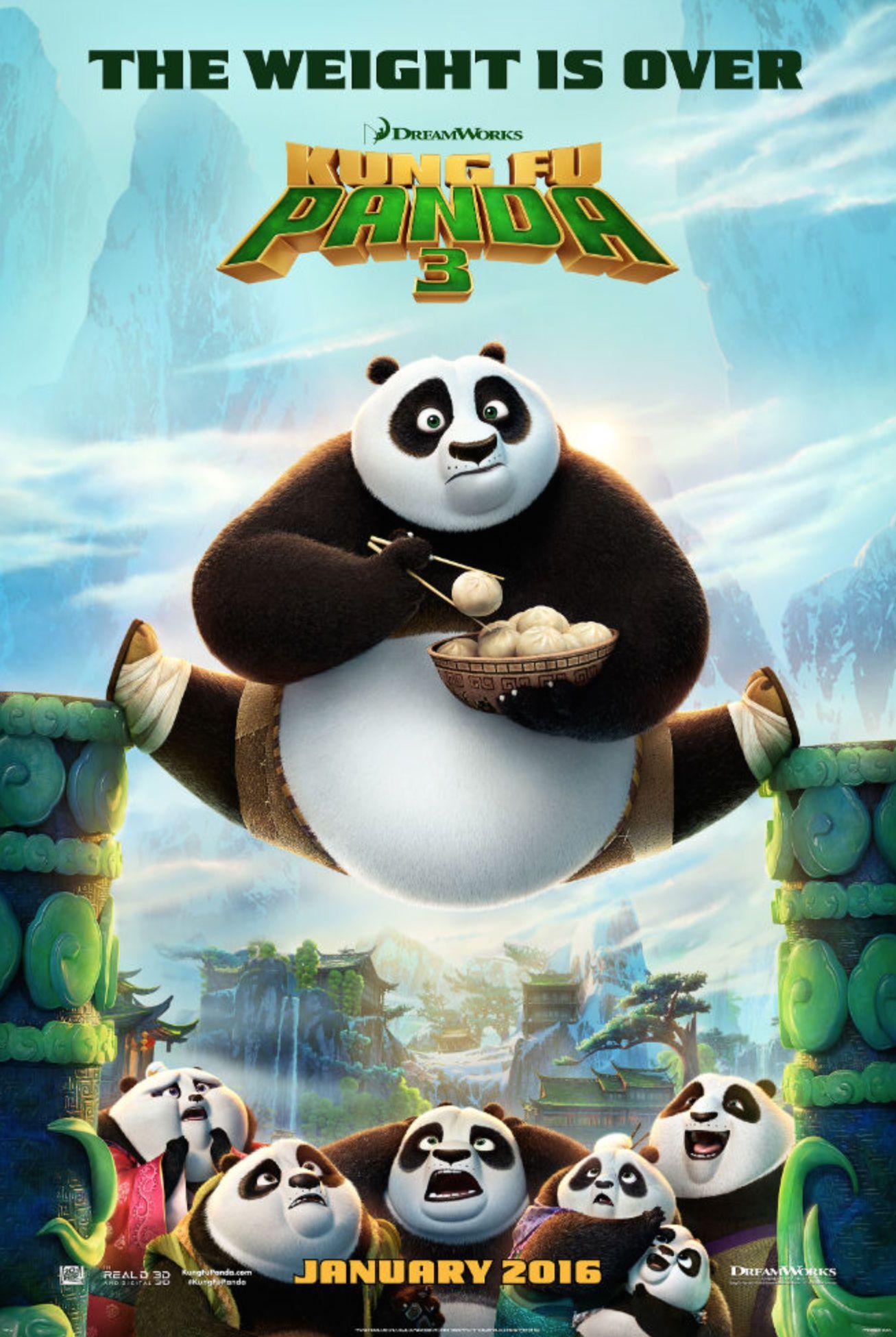Kung Fu Panda 3 Gets A Star Wars Themed Trailer Kung Fu Panda Kung Fu Panda 3 Disney Films