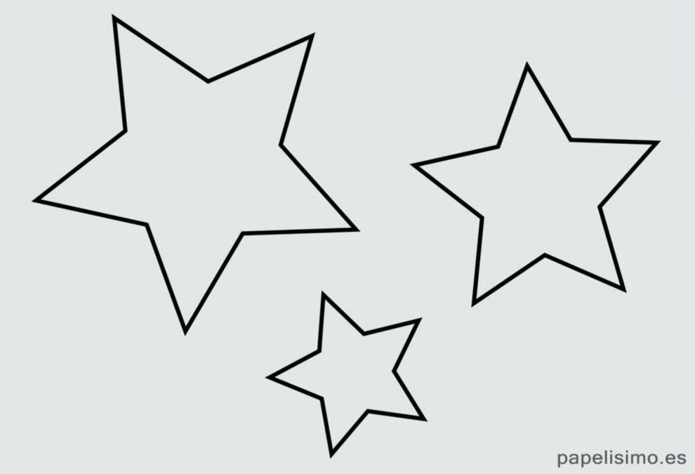 estrellas para colorear para c mo y con dibujos de estrellas para ...