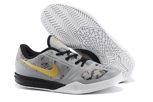 new product 76af3 5761a 2015 NIKE KB MENTALITY kobe 10 men basketball shoes grey gold